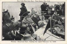 1908 2 12 THOMAS Car card front
