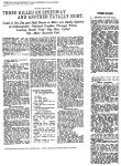 1909 8 22 Indy 500 THREE KILLED ON SPEEDWAY AND ANOTHER FATALLY HURT Los Angeles Times August 8, 1909 page VII