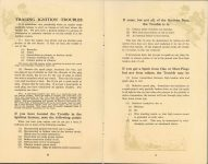 ca. 1909 HANDBOOK on the operation of MOTOR CARS and MOTOR BOATS Published by NATIONAL CARBON COMPANY pages 12 & 13