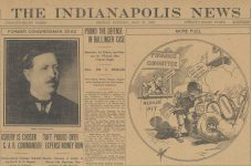 1910 5 27 Friday Indy 500 THE INDY NEWS front page