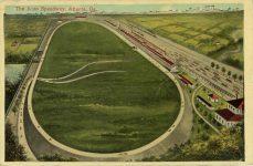 1911 2 8 Atlanta Speedway postcard front