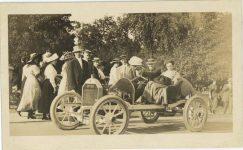 1911 Spring EMPIRE race car England postcard front