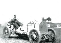 1911 ca Laurel Maryland unknown race car driver 10″×7″
