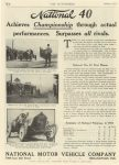1912 1 4 NATIONAL Racing 1911 Wins THE AUTOMOBILE page H 6