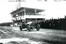 1914 ca Vanderbilt Cup Race Robertson in LOCOMOBILE 10″×7″