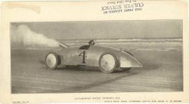 1905 ca. Steam racer Ormond Beach FL