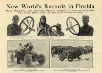 1910 NATIONAL New World's Records in Florida Atlantic-Pablo Course (Jacksonville) Found in Australia