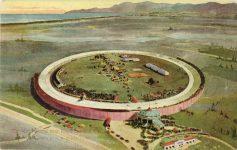 1910 Motordrome near Playa del Ray CAL postcard front