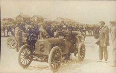 1910 ca. FIAT Cyclone Ormond Beach RPPC COPY