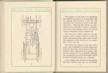 1912 MOTOR CAR ANATOMY by Franklin Pierce 5″×6″ pages 6 & 7
