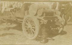 1912 ca racer unknown make RPPC front