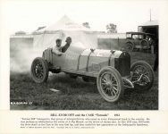 1913 CASE Tornado race car Bill Endicott 10×8 photo Source Walter Miller Front