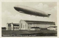 1935 ca Graf Zepplin Friedrichshafen a B German RPPC front