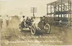 1911 Elgin Auto Races Aug 25 26 1911 Ireland Driver Killed Otorlon hurt in Practice Aug 21 Staver Chicago 217 RPPC 1