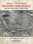 OFFICIAL PHOTOGRAPHS INDIANAPOLIS MOTOR SPEEDWAY 500 PHOTOGRAPHS OF 500 CARS DRIVERS CRASHES PERSONALITES FROM 1911 TO 1946 TOWER PHOTOGRAPHERS Front cover