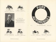 1905 ADVERTISING CUTS OF POPE Waverley ELECTRICS pages 10 & 11