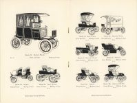 1905 ADVERTISING CUTS OF POPE Waverley ELECTRICS pages 6 & 7