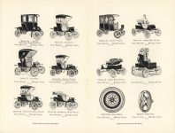1905 ADVERTISING CUTS OF POPE Waverley ELECTRICS pages 8 & 9