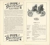 1905 POPE Waverley ELECTRICS pages 4 & 5