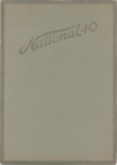 1914 National 40 CARS 10x14 Front cover