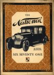 1923 24 National SIX SEVENTY ONE Front cover Source AACA Library