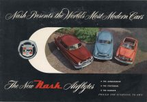 1951 NASH The New NASH Airflytes Sales Catalog
