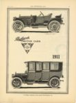 1910 5 18 Packard MOTOR CARS 1911 9″x12″ page 21