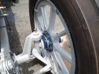 1912 PACKARD 30 racer wheel hub failure May 2015