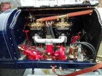 1912 Packard 30 Engine intake side HMSA Monterey Historics Mazda Raceway Laguna Seca, CAL August 2014