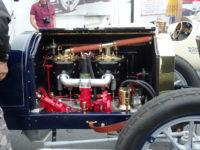 1912 Packard 30 Engine intake side HMSA Monterey Historics Mazda Raceway Laguna Seca, CAL August 2014 3