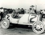 1913 Indianapolis 500 Charlie Merz STUTZ 10×8 photograph front