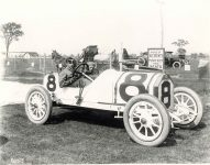 1913 Indianapolis 500 Don Herr STUTZ Coburn 10×8 photograph front