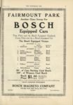 1910 10 12 NATIONAL BOSCH Equipped Cars FAIRMOUNT PARK THE HORSELESS AGE 9×12 page 21