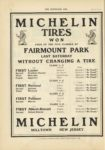 1910 10 12 NATIONAL MICHELIN TIRES WON FAIRMOUNT PARK THE HORSELESS AGE 9×12 page 14
