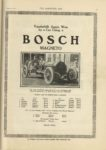 1910 10 5 NATIONAL BOSCH Vanderbilt Again Won by a Car Using a BOSCH MAGNETO THE HORSELESS AGE 9×12 page 23