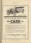 1910 10 5 The CASE Car FORMERLY THE PIERCE RACINE 4 Passenger 1950 THE HORSELESS AGE 9″x12″ page 33
