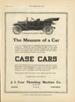 1910 12 28 CASE CARS The Measure of a Car THE HORSELESS AGE 9″x12″ page 21