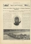 1910 9 7 NATIONAL Sport and Contests Hearne and Aitken Score Heavily at Hoosier Speedway Wind Up THE HORSELESS AGE 9×12 page 340