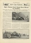 1911 8 30 NATIONAL Sport and Contests Elgins National Stock Chassis Races Marred by Accidents THE HORSELESS AGE 9×12 page 318