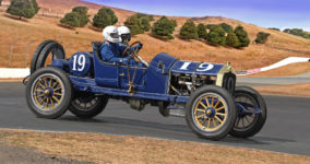 1911 National Speedway Roadster at Sonoma NO signature