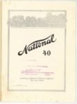 1912 National 40 Stock Champion NATIONAL MOTOR VEHICLE COMPANY Indianapolis, IND 7.75″×10.5″ page 1
