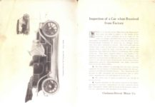 1909 CHALMERS DETROIT MODEL F 30 INSTRUCTION BOOK pages 2 3