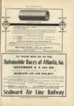 1910 10 12 Automobile Races at Atlanta Ga NOVEMBER 3 4 and 5th THE HORSELESS AGE 9×12 page 31