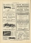 1910 10 12 REMY The Winning Buick in the Star Trophy Endurance Run Remy Magneto Remy Electric Company Anderson, Indiana THE HORSELESS AGE October 12, 1910 Vol. 26 No. 15 9×12 page 38