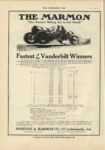 1910 10 12 MARMON THE MARMON Fastest of the Vanderbilt Winners Nordyke & Marmon Company Indianapolis, Indiana THE HORSELESS AGE October 12, 1910 Vol. 25 No. 15 9×12 page 16