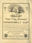 1910 10 5 ALCO TWO TIME WINNER OF THE VANDERBILT CUP THE HORSELESS AGE 9×12 Inside front cover
