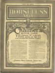 1910 10 5 Chalmers Motor Cars THE HORSELESS AGE 9×12 Front cover