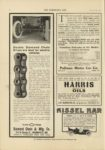 1910 10 5 DIAMOND CHAIN Double Diamond Chain Drives are best for electric vehicles Indianapolis THE HORSELESS AGE October 5, 1910 9″x12″ page 38