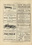 1910 10 5 PARRY Eight Models for 1911 Ranging from $900 – $1850 PARRY AUTO CO Indianapolis, Indiana THE HORSELESS AGE October 5,1910 Vol. 26 No. 14 9×12 page 50