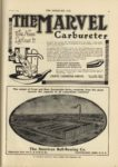 1910 10 5 THE MARVEL Carburetor The Name Defines It Indianapolis THE HORSELESS AGE October 5, 1910 9×12 page 41